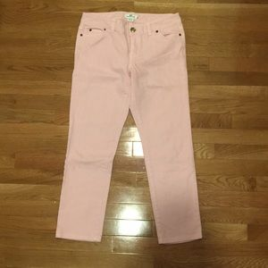 Light pink VV bootcut 8 jeans